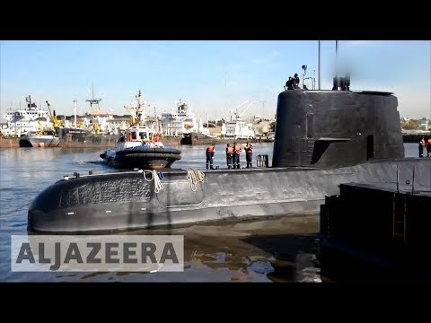 Argentine submarine: families push for search to continue