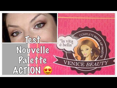 """[make-up-test]-nouvelle-palette-action-""""venice-beauty""""-💖"""