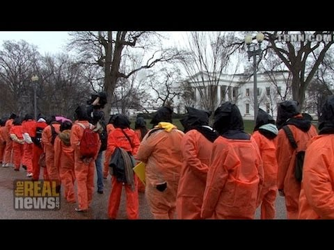 Protesters Demand Closure of GITMO