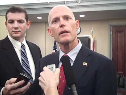 Buzz video: Rick Scott on oil drilling, illegal immigration