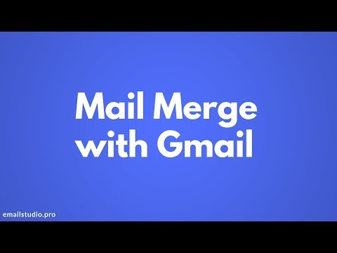 Mail Merge with Gmail