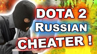 Dota 2 RUSSIAN STREAMERS play WITH CHEATS!