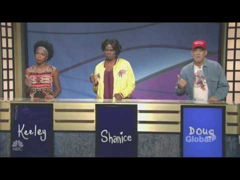 Saturday Night Live (4/8/17):  Louis C K  VS Tom Hanks Black Jeopardy