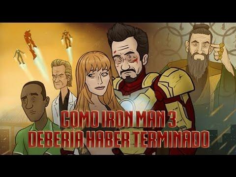 Como Iron Man 3 Deberia Haber Terminado