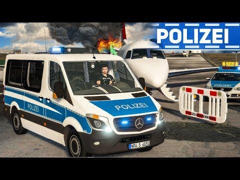 Flugzeugcrash Am Flughafen - Einsatz Für Die Bundespolizei! | DIE POLIZEI #26 GTA 5 LSPDFR Deutsch