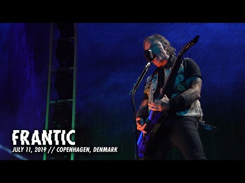 SHROOM - Metallica 'Frantic' LIVE In Copenhagen, Denmark [Video]