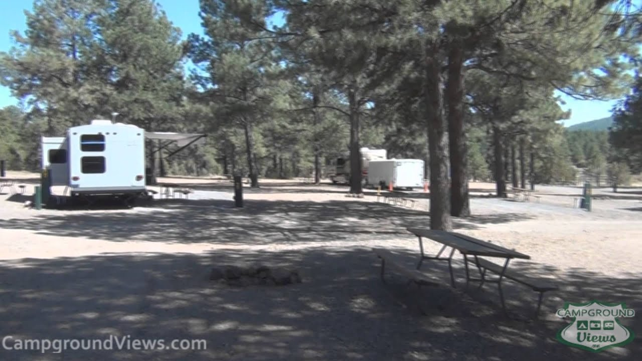 full hookup campgrounds in arizona