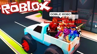 DOUBLE THEFT IN JEWELRY ? JAILBREAK ROBLOX