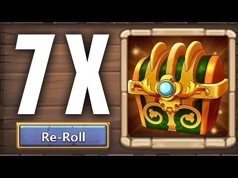 Castle Clash : Opening SPECIAL CHEST & Prime Crest Box