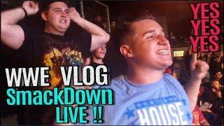 VLOG   AMAZING WWE SmackDown LIVE - TEAM HELL NO REUNITES!   June 26, 2018