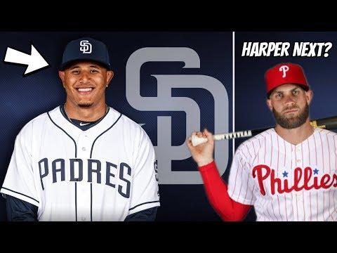 Manny Machado CONFIRMED to San Diego Padres! Bryce Harper Next?