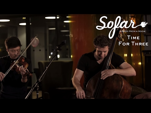 Time For Three - Bittersweet Symphony Organ Symphony Mashup | Sofar London
