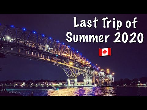 Last Trip Of Summer 2020| Holiday Inn Express Room Tour| Sarnia Canada| Indian Vlogger In Canada