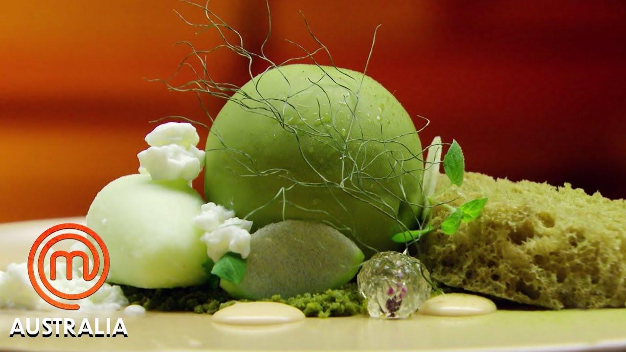 Reynold Poernomo S Amazing Moss Dessert Masterchef Australia Masterchef World Youtube
