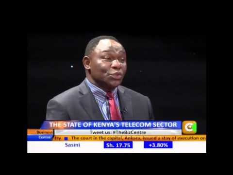 Business Center Interview: Dr. Bitange Ndemo on State of the Telecom Sector