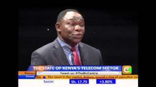 Business Center Interview Dr Bitange Ndemo on State of the Telecom Sector