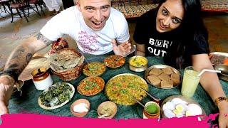 Northern GUJARATI Food from HEAVEN + Pol Neighborhood Tour | Ahmedabad, India