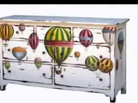 Upcycled Furniture Ideas-Ideas For Upcycled Drawers ;))) - Youtube