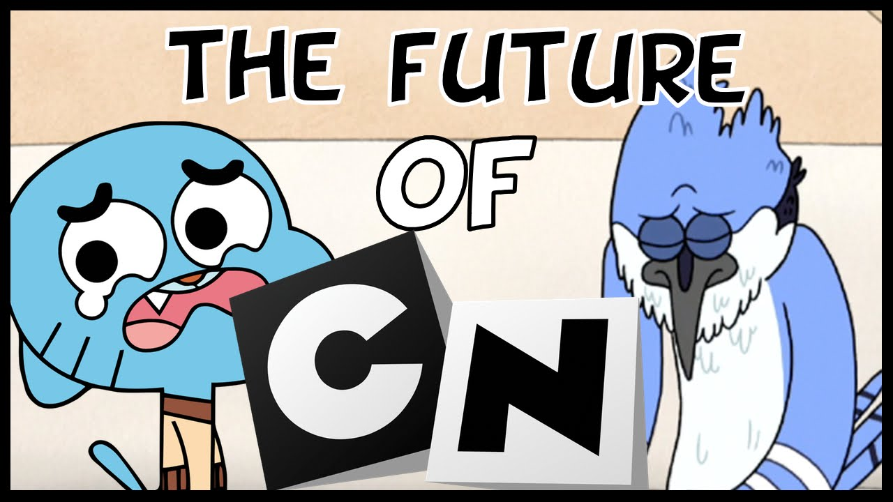 gumball and regular show ending the future of cartoon network