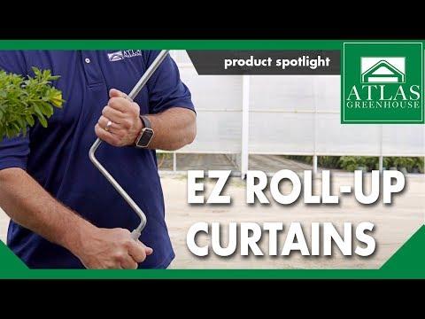 ATLAS EZ Roll-Up Curtains