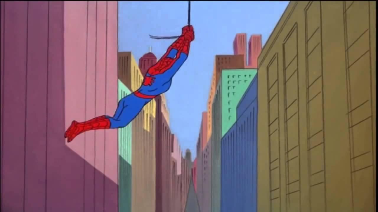spider man 60 s cartoon opening theme hd lyrics caption youtube