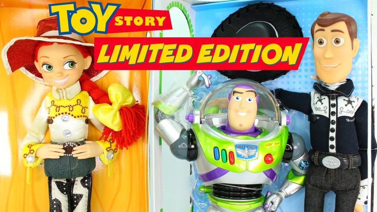 Limited Edition Toy Story Disney Dolls Talking Woody Buzz