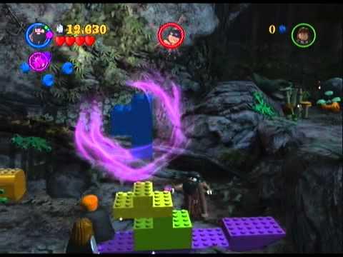 Lego Harry Potter Years 1-4 Walkthrough Part 8: The Forbidden Forest