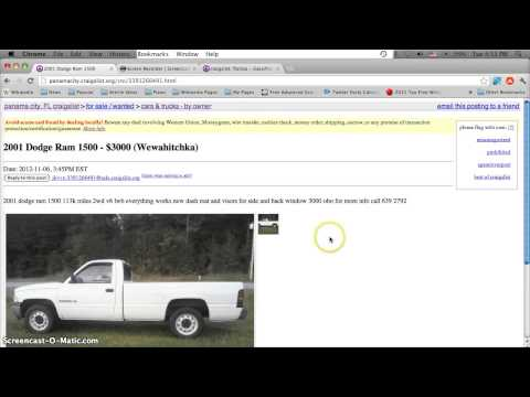 Craigslist Panama City Florida Used Cars And Trucks - Lowest Prices For Sale By Owner Today