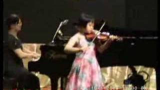 Violin Czardas Tai Yein Hwa. age: 9 Malaysia