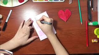 Лайфхаки для рисования/Милые открытки своими руками