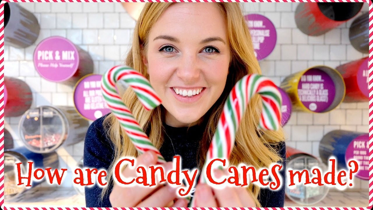 How are Candy Canes made? | Maddie Moate