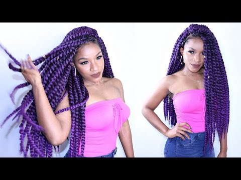 Havana Twist Crochet Braids in Invisible Method