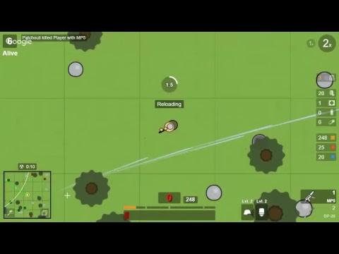 Surviv Io 2d Battle Royale Youtube