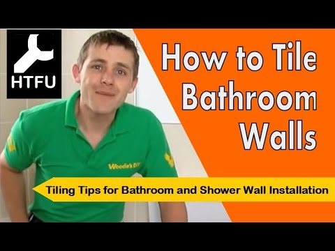 bathroom tile installation tips how to tile a bathroom wall installing tile amp bathroom 16790