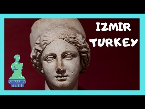 IZMIR: Ancient GREEK STATUES and JEWELRY, the ARCHAEOLOGY MUSEUM (TURKEY)