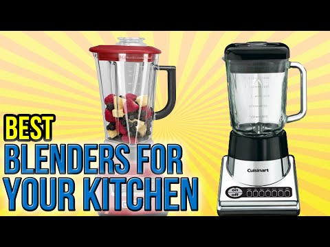 10 Best Blenders For Your Kitchen 2016
