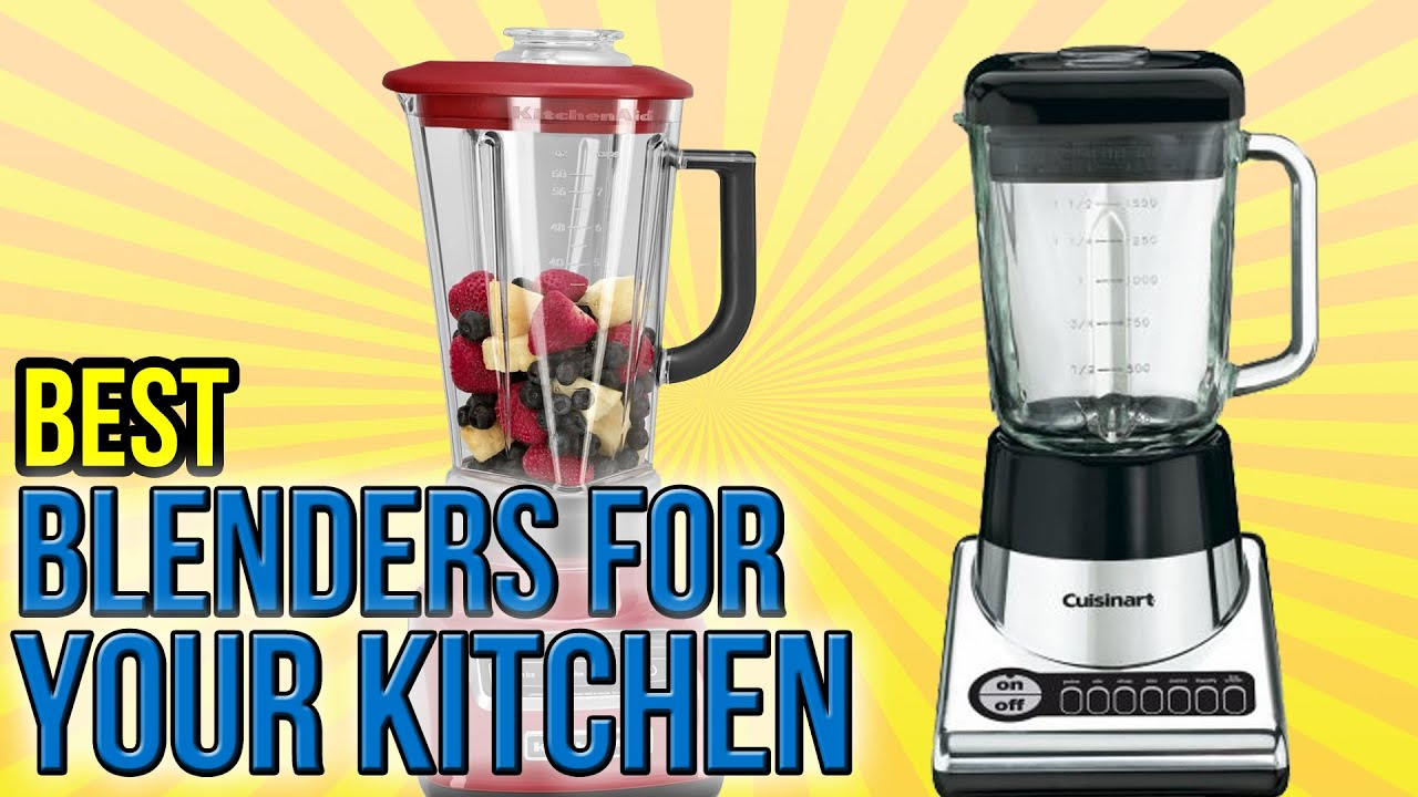 kitchen blenders reclaim paint cabinets 10 best for your 2016 youtube