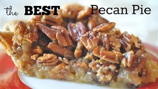 Best Pecan Pie Recipe with Honey Pecan Topping for amazing Thanksgiving Dessert