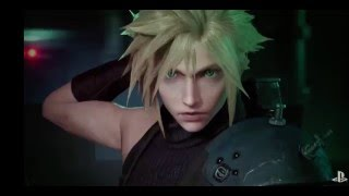 New Final Fantasy VII Remake Footage, Including Gameplay