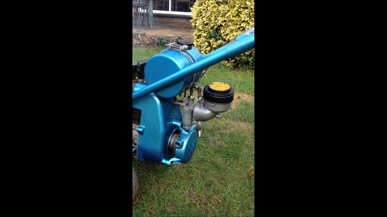 My 1958 Landmaster Gardenmaster 34 rotovator JAP engine YouTube