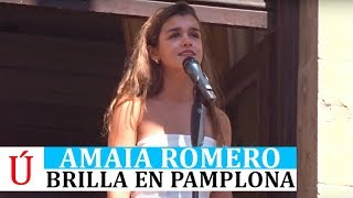 Amaia deslumbra a Pamplona y Operación Triunfo al cantar flamenco y recordar a Rosalía