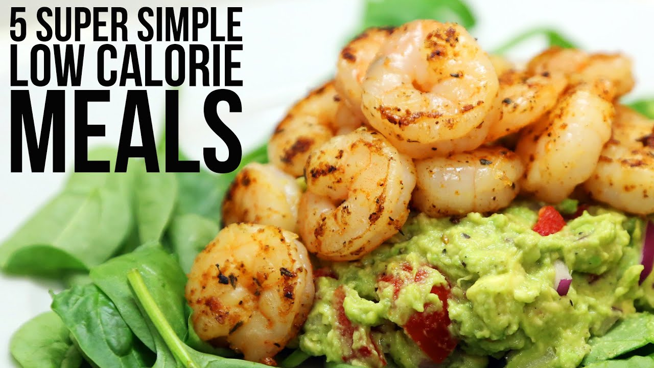 5 super simple low calorie meals youtube 5 super simple low calorie meals forumfinder Choice Image