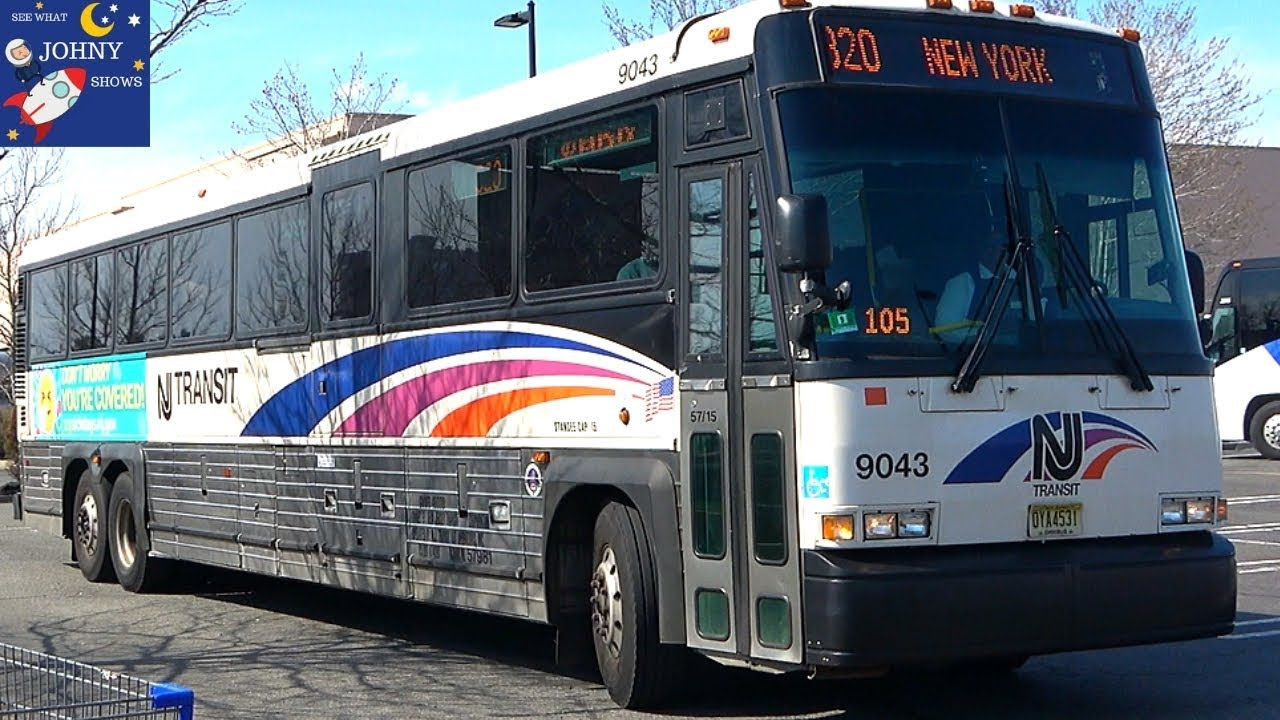 Johnys New Jersey Transit Bus Ride From Port Authority Bus Terminal