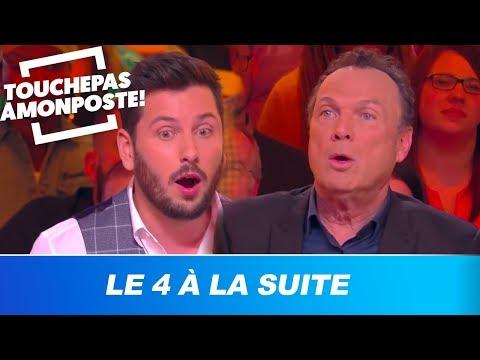 TPMP joue au '4 à la suite' avec Julien Lepers : fou rire sur le plateau !