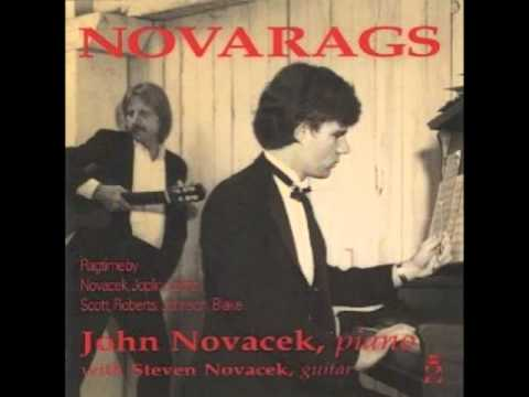 Schenectady (rag), John Novacek, composer/pianist