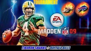 Madden 09 Tourney - Tiburon Sharks @ Buffalo Bills