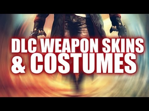 DmC: Devil May Cry - Pre Order Weapon Skins and Unlockable Costumes