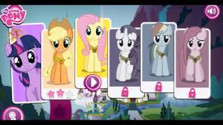 Пони: Возвращение Элементов Магии. История Маленьких Пони. Видео для детей. Игра для девочек.