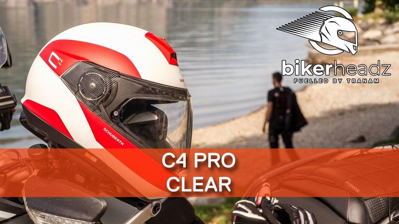 17b55453 Schuberth C4 Pro - Clear - YouTube