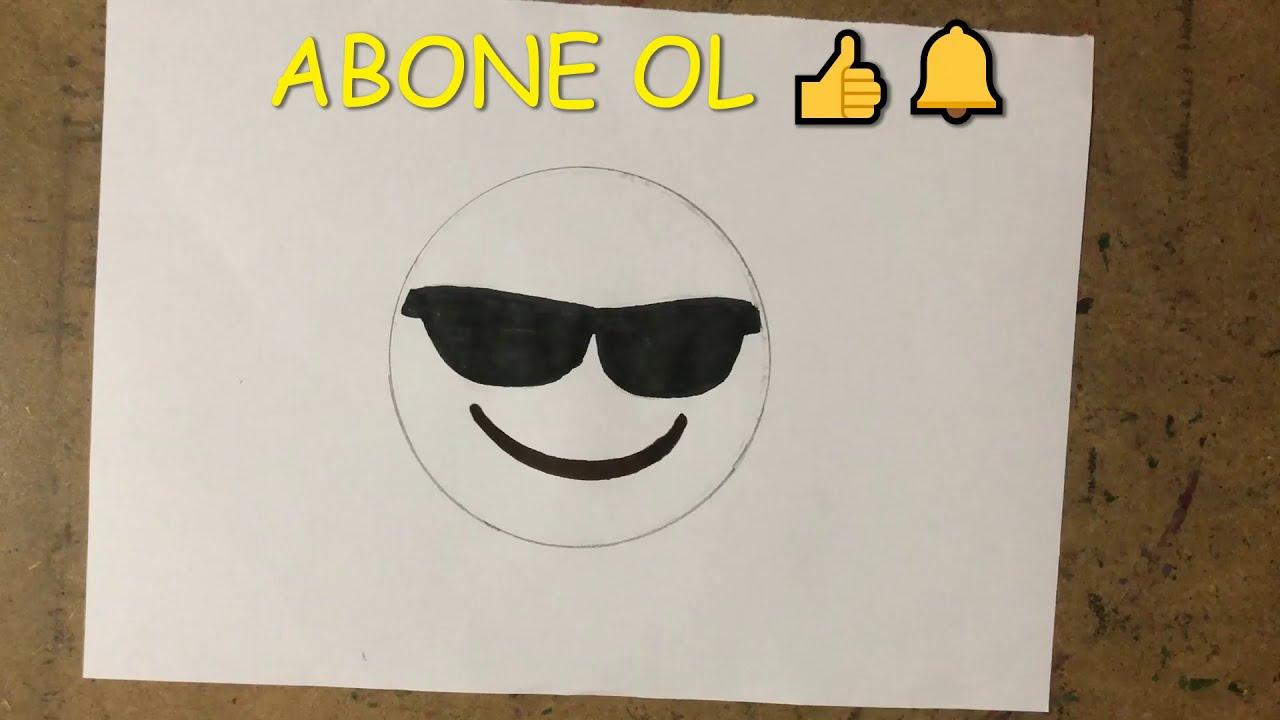 Kalpli Emoji Çizimi / Heart Eyed Emoji Drawing / Emoji Resmi Nasıl Çizilir / How to Draw Emoji